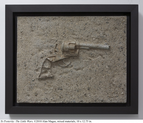 Alan Magee, To Posterity: The Little Wars, 2010, mixed media, 10 x 12.75 inches