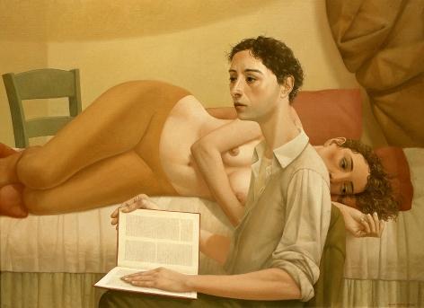 Alan Feltus, Mermaid's Story, 2003, oil on canvas, 31 1/2 x 43 1/4 inches