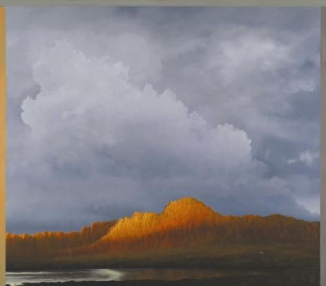 tula telfair, Pleasure Was Considered Decadent, 2010, oil on canvas, 70 x 80 inches