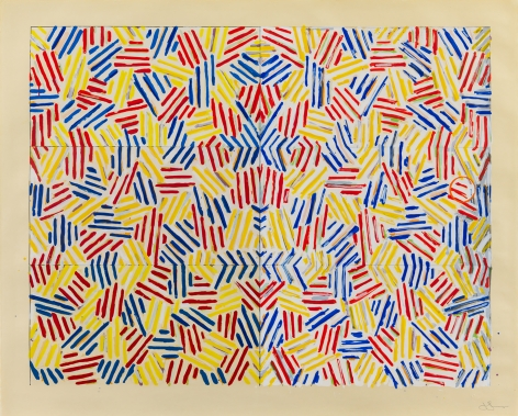 Jasper Johns, Corpse and Mirror, 1976, Silkscreen