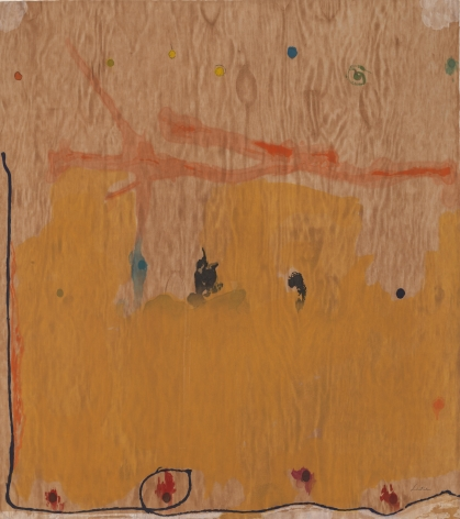 Helen Frankenthaler , Tales of Genji II, 1998, Fourty one color woodcut