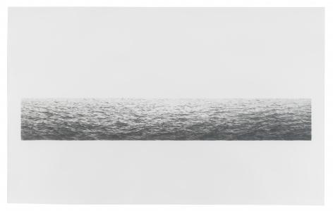 Vija Celmins, Untitled (Large Ocean), 1972, Lithograph