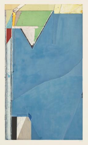 Richard Diebenkorn, HIgh Green Version I,1992, etching with aquatint