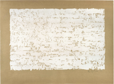Jasper Johns, Flag II, 1960, Lithograph