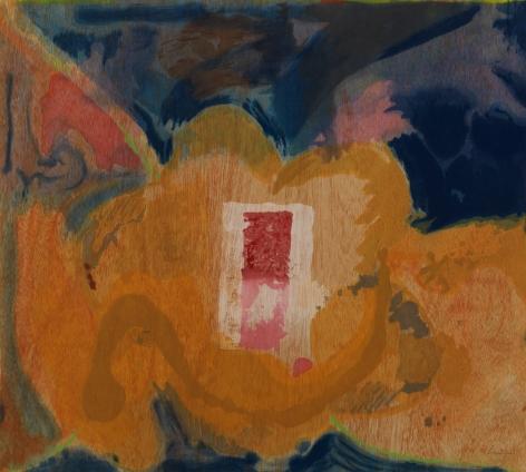 Helen Frankenthaler, Tales of Genji V, 1998, Forty-nine color woodcut