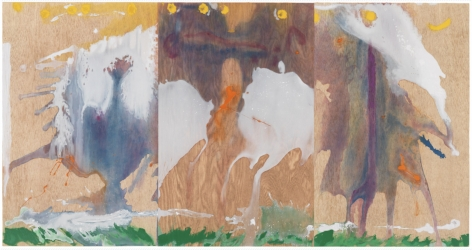 Helen Frankenthaler, Book of Clouds, 2007, aquatint etching, woodcut, and pochoir with hand-coloring