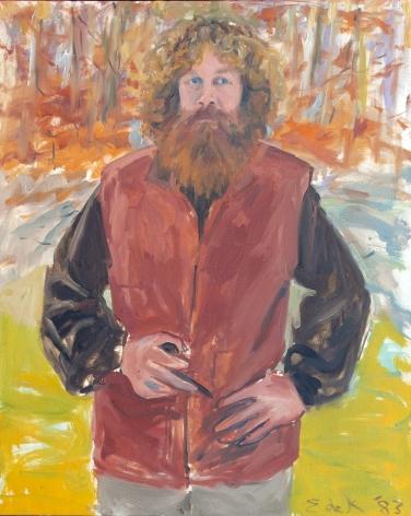 Elaine de Kooning, Scott 1, 1983