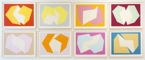 Charles Hinman, Print Study, 1974
