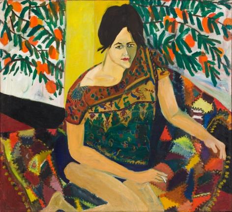 Mimi Gross, Katharine Under the Persimmon Tree, 1961