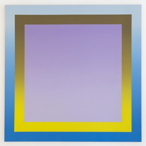 Michael Boyd, Navona, 1971, 78″ x 78″, acrylic on canvas