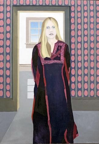 Daphne Mumford, Cora in Purple, 1971
