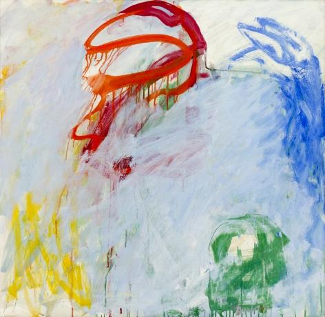 Pat Passlof, Why Blue, 1959