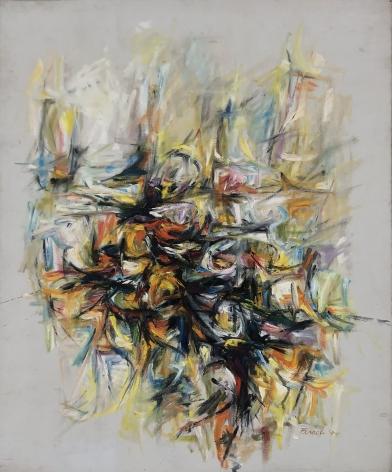Paul Brach (1924-2007), Untitled, 1955