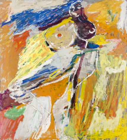 George McNeil (1908-1995), Luciana, 1960