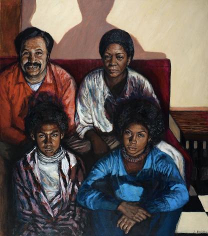 Shirley Gorelick, Family II, 1973