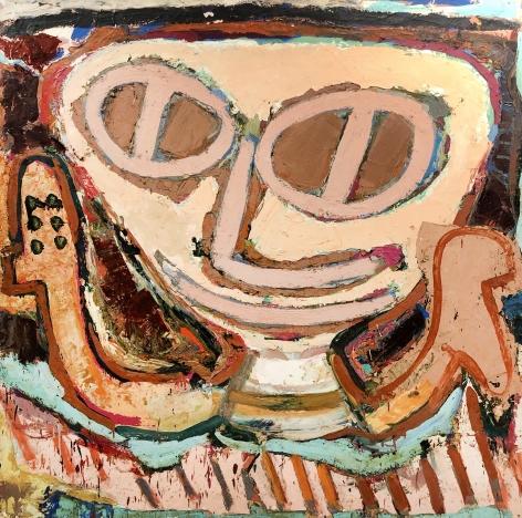 Jay Milder (1934-), Subway Runner, 1963