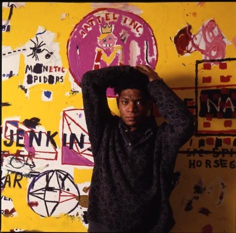 Tseng Kwong Chi, Jean Michel Basquiat NY, Jenkins,1987