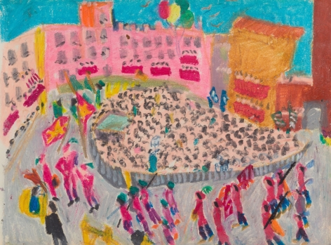 Mimi Gross, Palio Parade