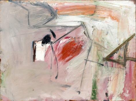 Pat Passlof, Untitled, 1957