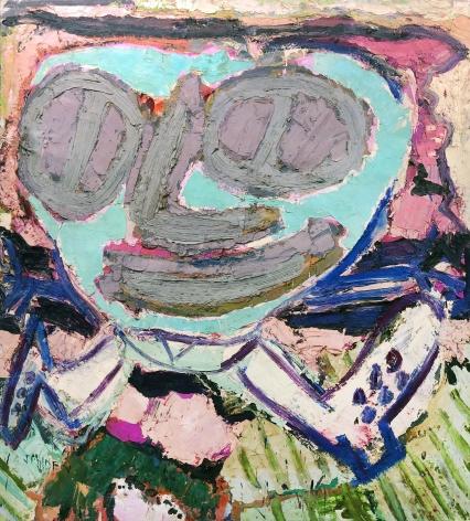 Jay Milder (1934-), Turquoise Runner, 1963