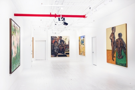 What About The Human Figure? Featuring historic work by: Martha Edelheit, Shirley Gorelick and Marcia Marcus.