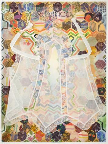 Miriam Schapiro, Patience, 1976