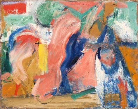 Pat Passlof, Pas de Quatre, 1952