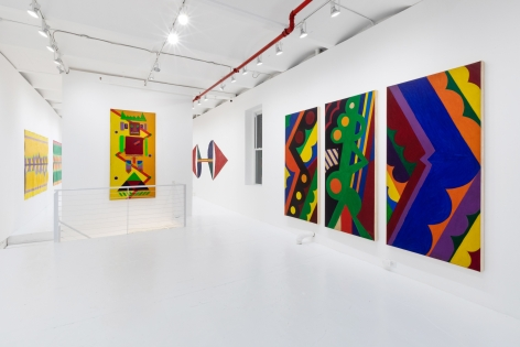 Ellsworth Ausby: Somewhere in Space, Paintings from the 1960s and 1970s