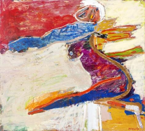George McNeil (1908-1995), Augury, 1961