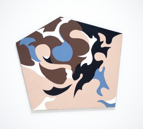 Carl Pickhardt (1908 - 2004), Abstraction #622, 1989