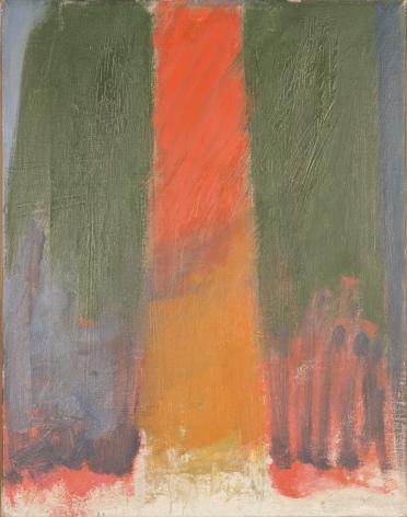 Jack Tworkov, OC #54, 1958, oil on canvas