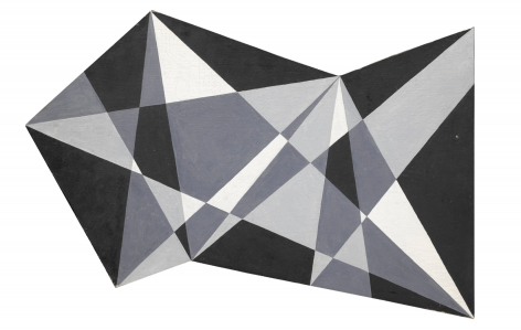 Carl Pickhardt (1908 - 2008), Abstraction #6, 1954