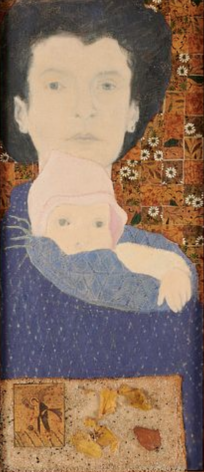 Marcia Marcus, Untitled (Self Portrait with Baby), 1970