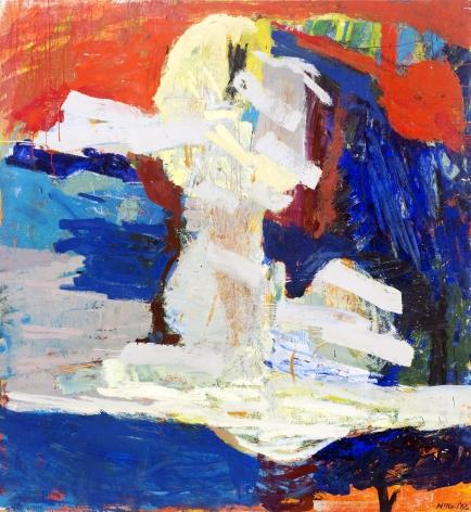 George McNeil (1908-1995), Laura, 1962