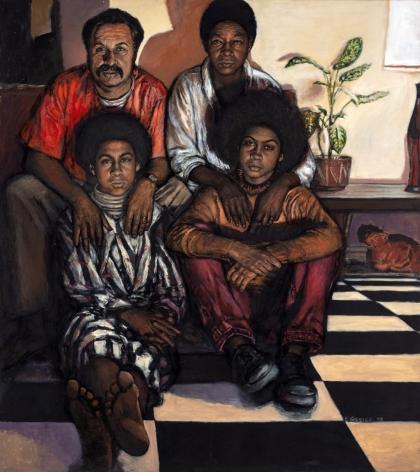 Shirley Gorelick, Family I, 1973