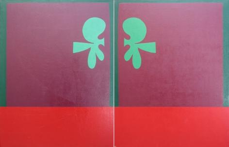 Jorge Fick, Flag #1 and #2, 1969