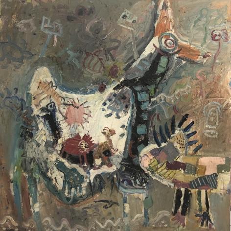 Jay Milder (1934-), Animals, 1965