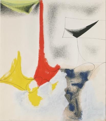 Douglas Denniston, Abstraction No. 9, 1951