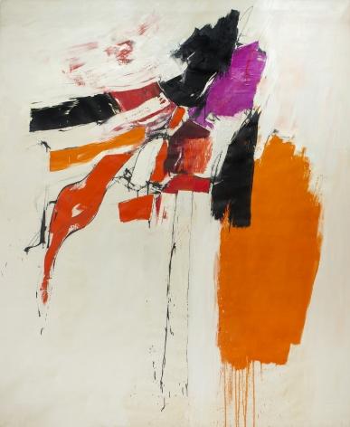Kyle Morris (1918-1979), Red + Purple, 1961