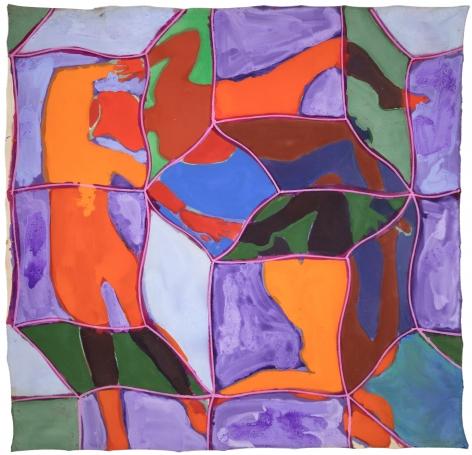 Joe Overstreet (1933-), Rhythm Change, 1970