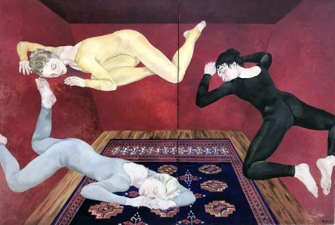 Daphne Mumford, Red Room, 1978