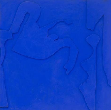 Perle Fine, Blue-Chips Blue #1, 1967