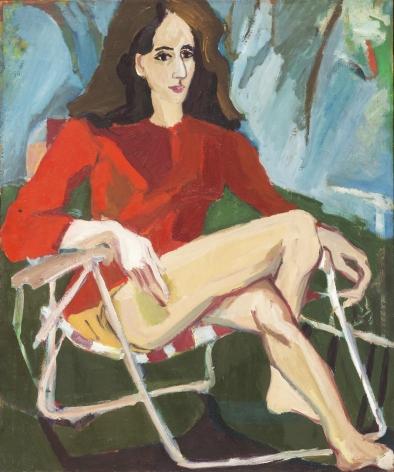 Mimi Gross, Naomi Schor, 1959