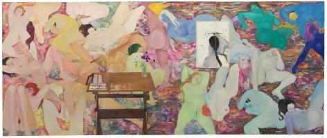 Martha Edelheit, Flesh Wall - Female, 1965