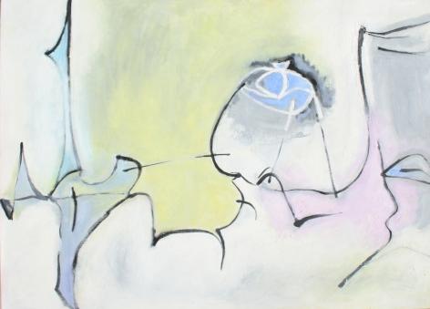 Douglas Denniston, Composition # 33, 1950