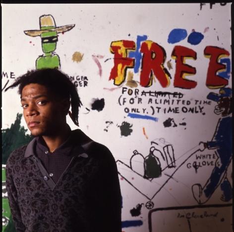 Tseng Kwong Chi, Jean Michel Basquiat NY, Free, 1987