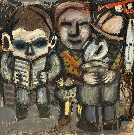 Jay Milder (1934-), Subway Embrace, 1959