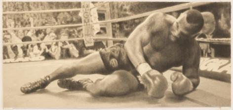 Howard Kanovitz, Untitled (Mike Tyson)