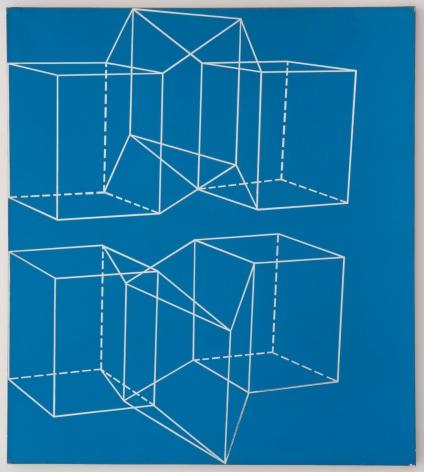 Miriam Schapiro, Mylar Series #2, 1970, acrylic on mylar, 47 1/2h x 42 1/2w in