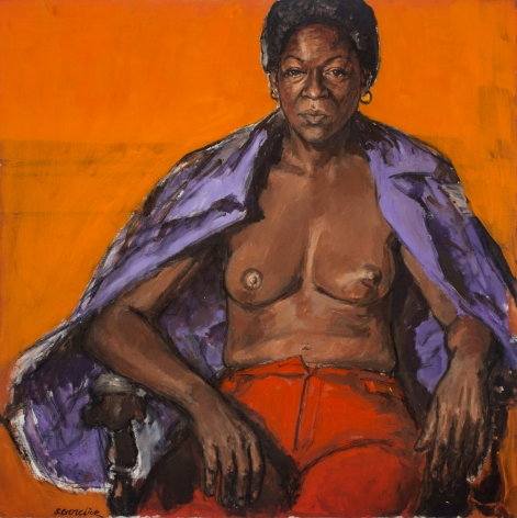 Shirley Gorelick, Untitled (Libby seated), 1970s